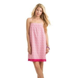 Vineyard Vines Tiny Leaves swing cover up